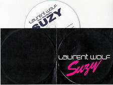 CD COLLECTOR IN PLASTIC SLEEVE LAURENT WOLF FEAT MOD MARTIN  SUZY 2 VERSIONS