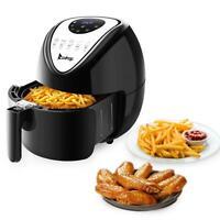 ZOKOP 6.87QT Large Capacity Digital Air Fryer 1800W Timer Temperature Control
