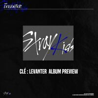 Stray Kids Clé : LEVANTER Normal Ver CD+Photobook+Photocard+Etc+Tracking Number