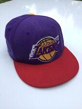 "Rare La Lakers New Era ""HARDWOOD CLASSICS"" Cap Snapback Hat 00's"