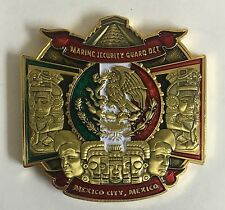 """USMC Marine Security Guard Detachment State Dept MSG-Det Mexico City Mexico 2"""""""