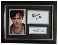 Nicholas Hoult Signed A4 Framed Autograph Photo Display X Men Film AFTAL COA