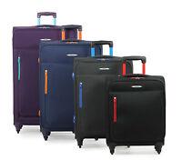 Members Hi-Lite Lightweight Four Wheel Spinner Luggage Trolley Cases