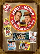 Abbott and Costello Comedy Box Set DVDs & Blu-ray Discs