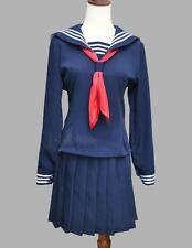 Japanese Japan School Uniform Dress Sailor Cosplay Costume Anime Girl Styles New