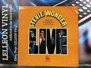 Stevie Wonder Live LP Album STML11150 A1/B1 Tamla Motown Soul 70's
