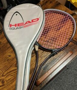AS IS Head Squash Raquet / Head SXA Pink with Cover - Needs new wrap READ