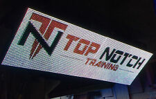 "1-SIDED OUTDOOR 3x9 FULL COLOR LED SIGN RGB 100""L X 38""H - 5 YEAR WARRANTY! 16mm"