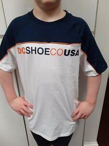 DC Shoes Men's White Tshirt Medium