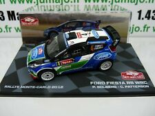 RMIT4H 1/43 IXO Rallye Monte Carlo  FORD FIESTA RS WRC 2012 P. Solberg Patterson