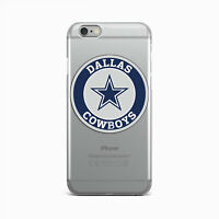 Dallas Cowboys iPhone X XR XS Max Rubber Snap iPhone 6s 7 8 Plus Silicone Cover