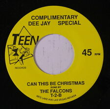 FALCONS / MIRACLES: Can This Be Christmas / The Christmas Song 45 (re)