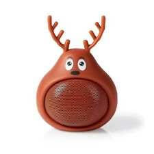 TNB Cute Reindeer Bluetooth Speaker, BNIB, Novelty, Secret Santa Gift, RRP £21