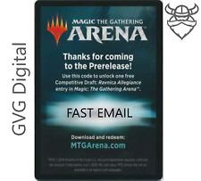 MTGA Ravnica Allegiance Prerelease Magic Arena Draft Code 1/acct - Fast Email