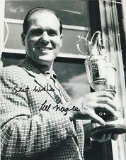 KEL NAGLE Signed Open Championship PGA Golf 8 x 10 Photo Autographed