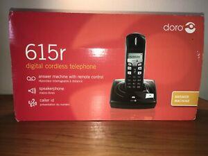 DORO 615r Digital Cordless Telephone built in answering machine