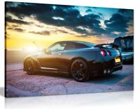 Nissan Gtr Canvas Wall Art Picture Print