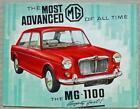 MG 1100 Car Sales Brochure Aug 1963 #H&E 6372