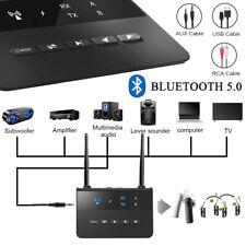 Bluetooth 5.0 Adapter Audio Transmitter Empfänger Receiver Musik Stereo Sender