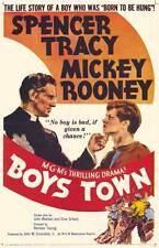 BOYS TOWN Movie POSTER 11x17 B Spencer Tracy Mickey Rooney Henry Hull Gene