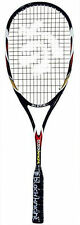 Black Knight Alpha squash racquet black senior new strung head cover raquetball