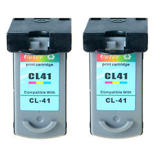2 Pack CL-41 Color Ink Cartridges for Canon PIXMA MP140 MP150 MP160 MP170 MP180