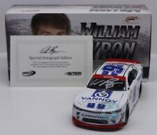 WILLIAM BYRON #9 2017 AUTOGRAPHED VANNOY CONSTRUCTION 1/24 NEW FREE SHIPPING