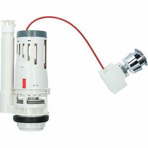 Dual-flush Push Button Toilet Cistern Flush Syphon Valve Adjustable Button Press