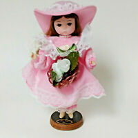 "Vintage Big-Eye Bradley Dolls - Korea - Small 8 1/2"" Miss Pearl - June Birthday"