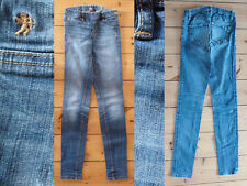 Esprit Jeggins Jeans Leggins Girl Gummibund Stretch blue denim W 25 L 32 Top