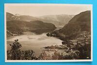 Norwegen Norge Norway AK Hardanger Ulvikfjord 1939 Stempel: Kdf-Reise Robert Ley