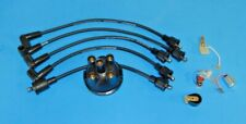 New Ignition Tune Up Kit 25D4 Top Entry MGA MGB MG Midget Cap Points Rotor Wires