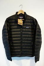 $229 NWT Patagonia Men's Down Sweater Jacket Black Size Small