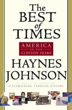 The Best of Times: America in the Clinton Years *LOW PRICE* FREE SHIPPING