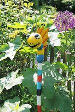 Gartenstecker  Gartenstab Rankstab *Drache August* 1m Gartendekoration