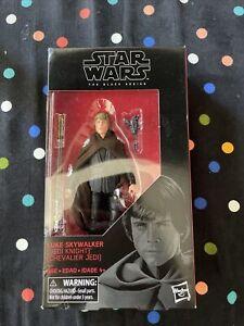 Star Wars The Black Series Luke Skywalker Jedi Knight 6 Inch Walmart Exclusive