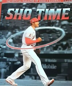 Rare New 2021 Shohei Ohtani Angels Baseball Program Magazine Sho Time Mike Trout