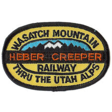 Patch- Wasatch Mountain Railway Heber Creeper  #12650 -NEW- Free Ship
