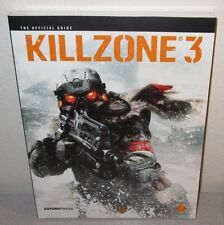 KILLZONE 3 SEALED NEW FuturePress Official Strategy Guide GuerrillaGames PS3 FPS