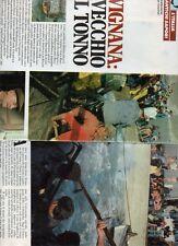 SP64 Clipping-Ritaglio 1984 Favignana Il vecchio e il tonno