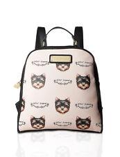 Betsey Johnson Kitch Medium Travel Gym School Backpack Bookbag Tote Purse Bag