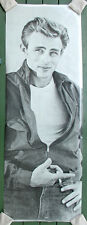 James Dean•B&W Photo with Cigarette•26x76 Door Size POSTER Mint