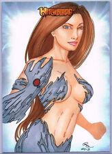 Witchblade Sketch Card by Rhiannon Owens