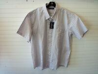 Bill Paxton New Mens Button Up Short Sleeve Pink Shirt XL