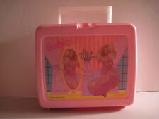 Barbie Plastic Lunchbox with Thermos! (Used) 1990.