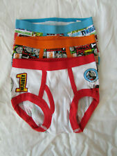 Thomas And Friends/Thomas The Train Boy's Briefs Size 4T 3 Pair 100% Cotton New
