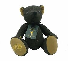 Celtic Ted Teddy Bear Made in Ireland by Celtic Gent Wool Tweed