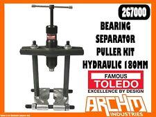 TOLEDO 267000 - BEARING SEPARATOR PULLER KIT HYDRAULIC - 180MM - BEHIND GEARS