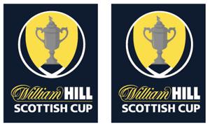 Scottish Cup William Hill Arm Sponsor Sleeve Shirt Soccer Print Football Celtic