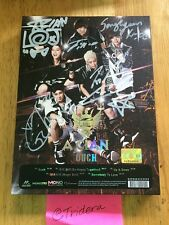 A.CIAN ACIAN OUCH Mini Album Signed Autographed All Member KPOP Authentic Silver